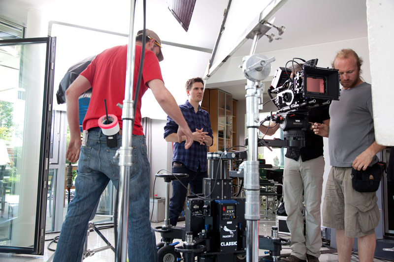 Behind the scenes Wartner TVC